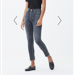 Citizens of humanity high rise jeans